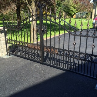 large Wrought iron gate