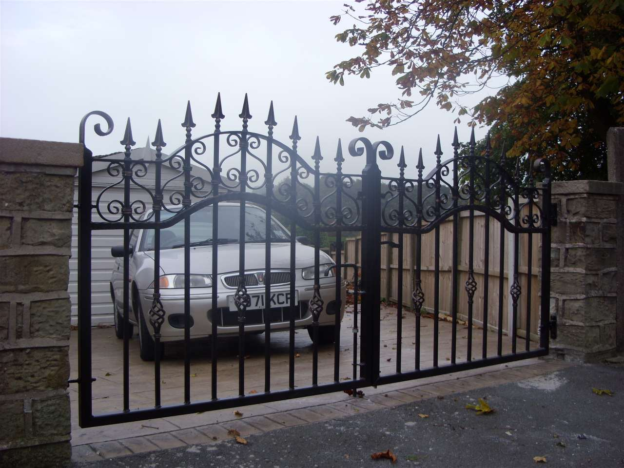 Wrought Iron Gates: Quality Wrought Iron Gates By TSB Ironcraft