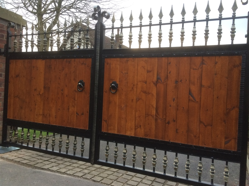 Quality Wrought Iron Gates By Tsb Ironcraft